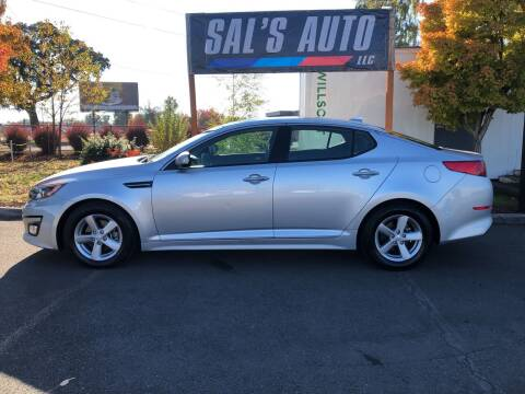 2015 Kia Optima for sale at Sal's Auto in Woodburn OR
