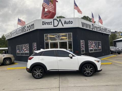2016 Mazda CX-3 for sale at Direct Auto in D'Iberville MS