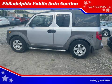 2003 Honda Element for sale at Philadelphia Public Auto Auction in Philadelphia PA