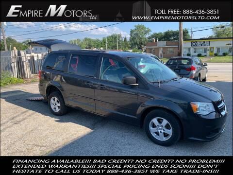 2011 Dodge Grand Caravan for sale at Empire Motors LTD in Cleveland OH