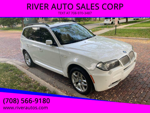 2007 BMW X3 for sale at RIVER AUTO SALES CORP in Maywood IL
