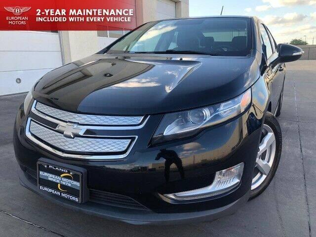 2015 Chevrolet Volt for sale at European Motors Inc in Plano TX