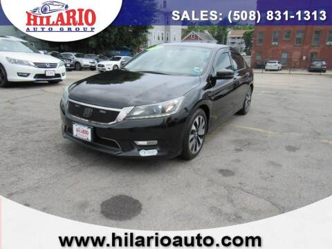 2014 Honda Accord Hybrid for sale at Hilario's Auto Sales in Worcester MA