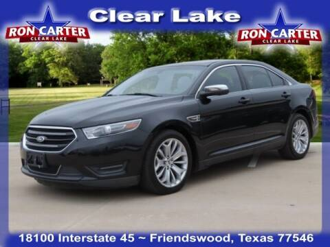 2015 Ford Taurus for sale at Ron Carter  Clear Lake Used Cars in Houston TX