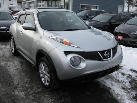 2013 Nissan JUKE for sale at CLASSIC MOTOR CARS in West Allis WI