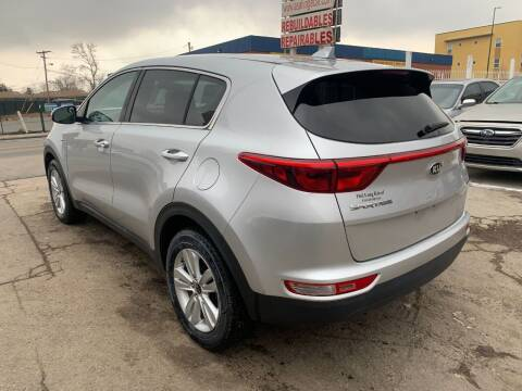 2018 Kia Sportage for sale at STS Automotive in Denver CO