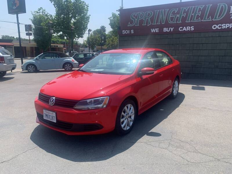 2012 Volkswagen Jetta for sale at SPRINGFIELD BROTHERS LLC in Fullerton CA