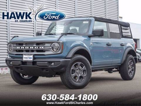 2021 Ford Bronco for sale at Hawk Ford of St. Charles in Saint Charles IL