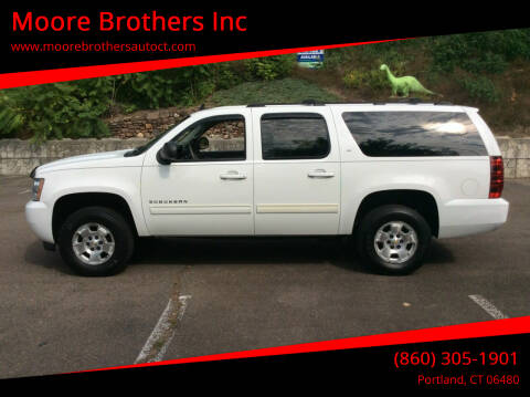 2010 Chevrolet Suburban for sale at Moore Brothers Inc in Portland CT