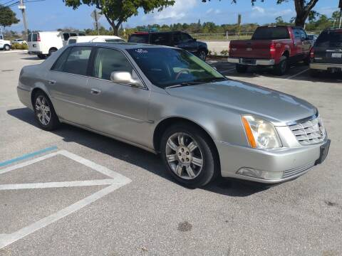 2008 Cadillac DTS for sale at LAND & SEA BROKERS INC in Deerfield FL