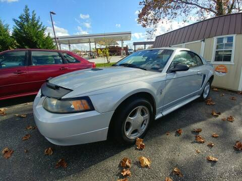 2002 Ford Mustang for sale at Regional Auto Sales in Madison Heights VA