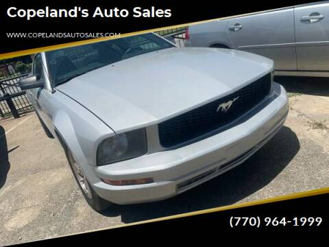 2006 Ford Mustang for sale at Copeland's Auto Sales in Union City GA