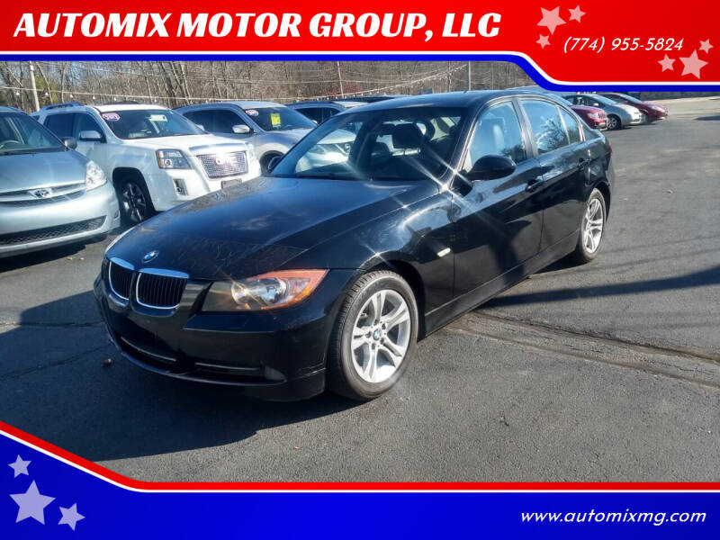 2008 BMW 3 Series for sale at AUTOMIX MOTOR GROUP, LLC in Swansea MA