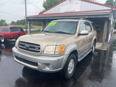 2003 Toyota Sequoia for sale at Best Buy Auto Sales in Midland OH
