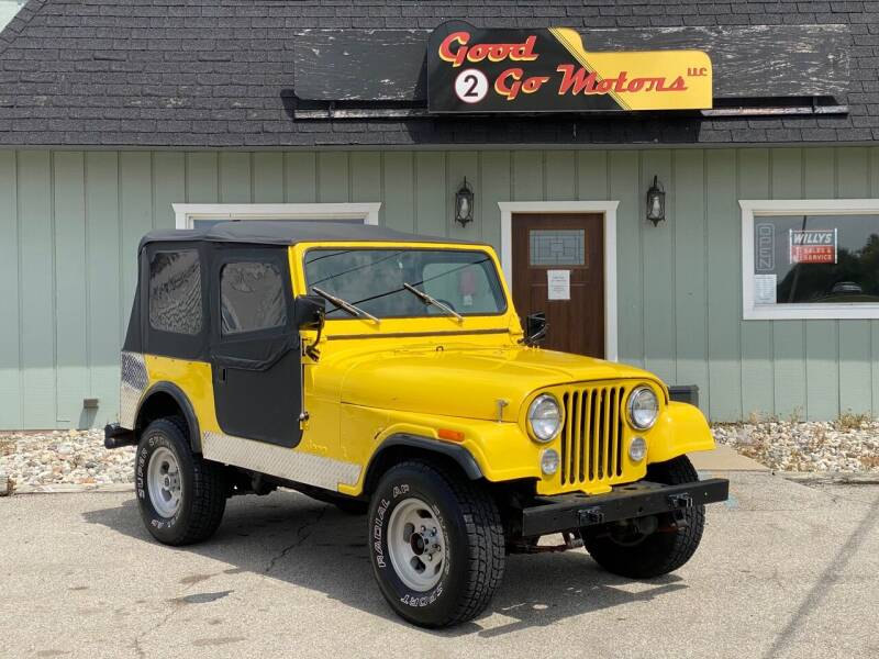 1979 Jeep CJ-7 for sale at Good 2 Go Motors LLC in Adrian MI