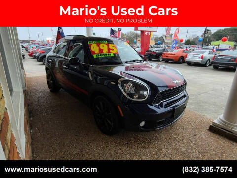 2013 MINI Countryman for sale at Mario's Used Cars - South Houston Location in South Houston TX