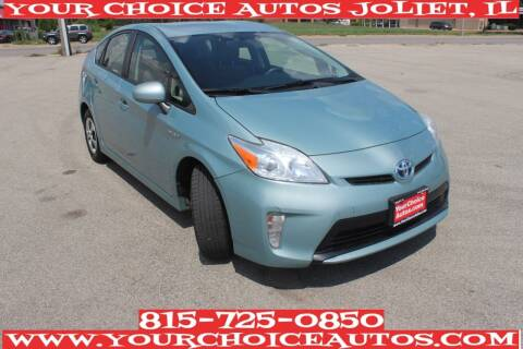 2013 Toyota Prius for sale at Your Choice Autos - Joliet in Joliet IL