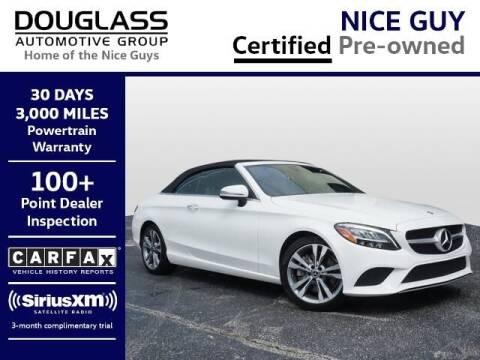 2020 Mercedes-Benz C-Class for sale at Douglass Automotive Group - Douglas Volkswagen in Bryan TX