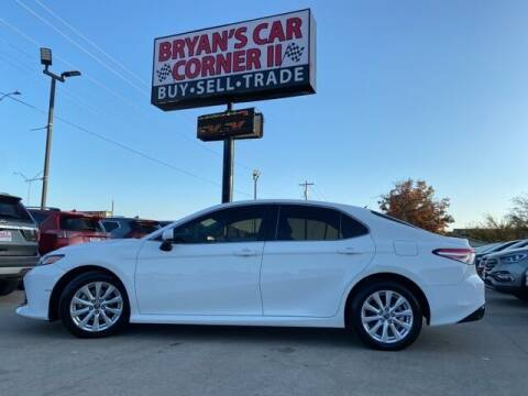 2018 Toyota Camry for sale at Bryans Car Corner in Chickasha OK