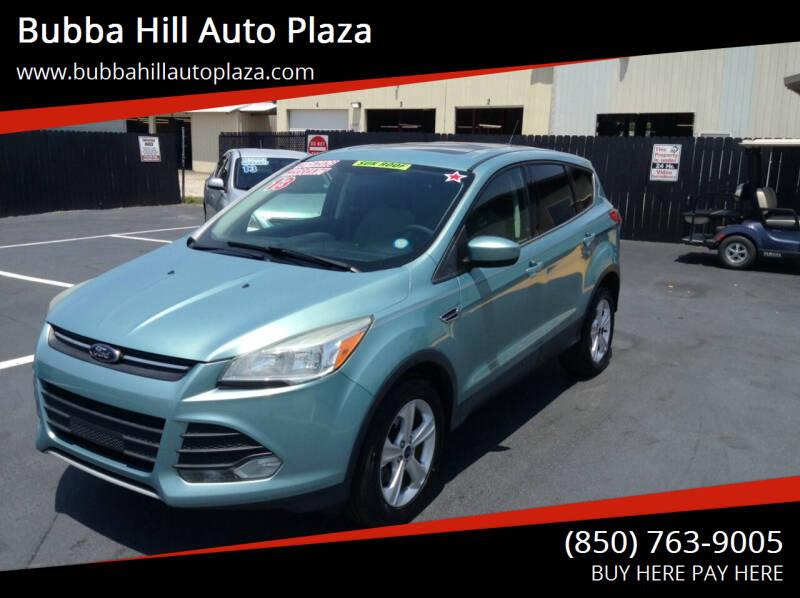 2013 Ford Escape for sale at Bubba Hill Auto Plaza in Panama City FL