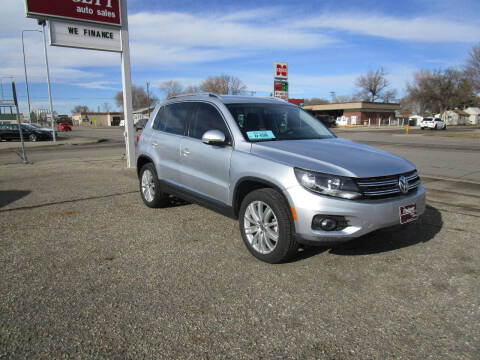 2012 Volkswagen Tiguan for sale at Padgett Auto Sales in Aberdeen SD