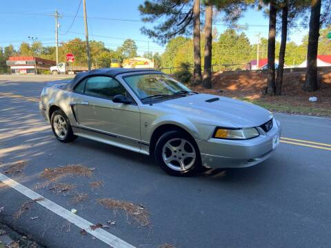 2000 Ford Mustang for sale at THE AUTO FINDERS in Durham NC