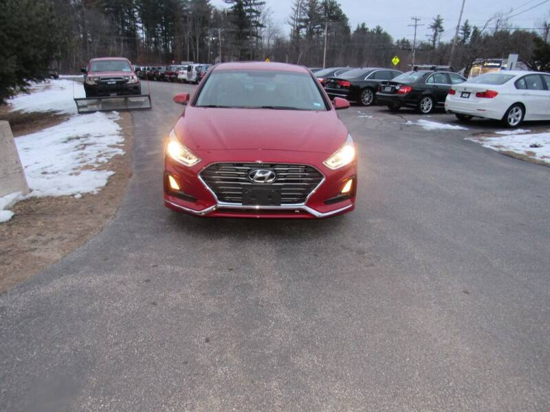 2019 Hyundai Sonata for sale at Heritage Truck and Auto Inc. in Londonderry NH