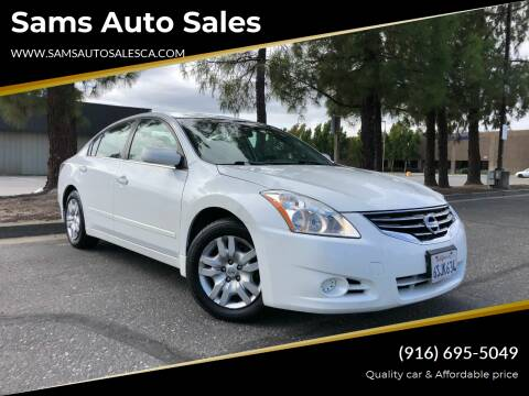 2011 Nissan Altima for sale at Sams Auto Sales in North Highlands CA