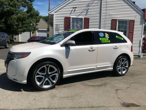 2013 Ford Edge for sale at Crown Auto Sales in Abington MA
