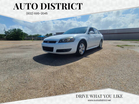 2010 Chevrolet Impala for sale at Auto District in Baytown TX