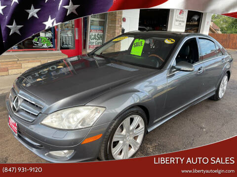 2008 Mercedes-Benz S-Class for sale at Liberty Auto Sales in Elgin IL