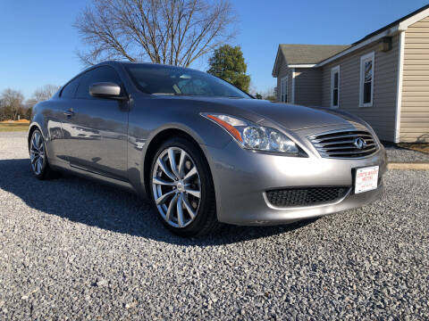 2008 Infiniti G37 for sale at Curtis Wright Motors in Maryville TN