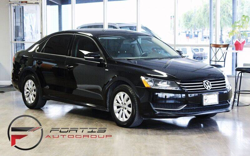 2015 Volkswagen Passat for sale at Fortis Auto Group in Las Vegas NV