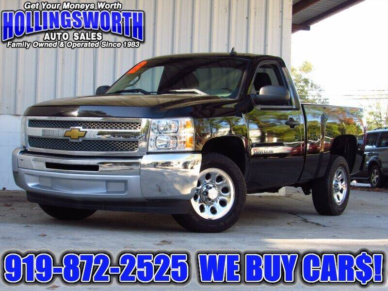 2013 Chevrolet Silverado 1500 for sale at Hollingsworth Auto Sales in Raleigh NC