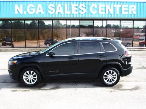 2019 Jeep Cherokee for sale at NORTH GEORGIA Sales Center in La Fayette GA