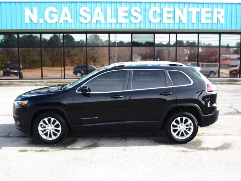 2019 Jeep Cherokee for sale at NORTH GEORGIA Sales Center in La Fayette GA