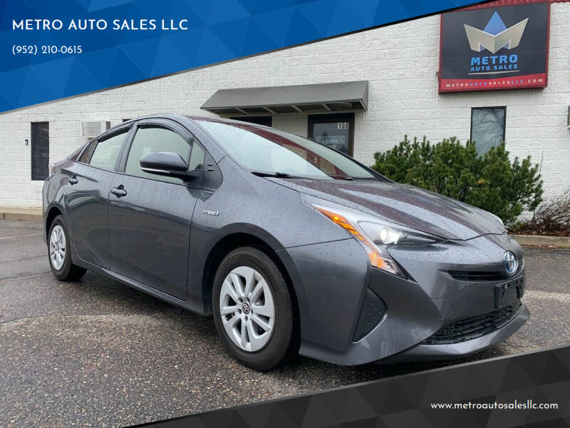 2016 Toyota Prius for sale at METRO AUTO SALES LLC in Blaine MN