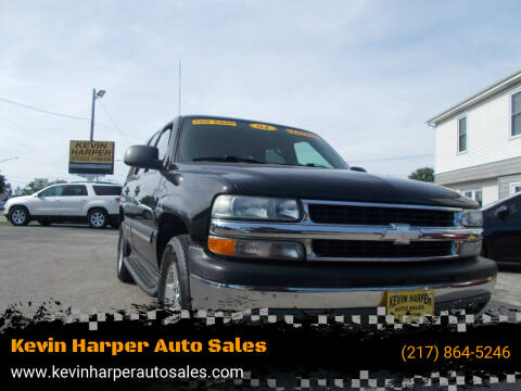 2004 Chevrolet Tahoe for sale at Kevin Harper Auto Sales in Mount Zion IL