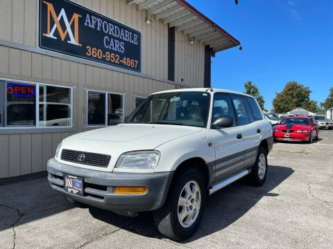 1996 Toyota RAV4 for sale at M & A Affordable Cars in Vancouver WA