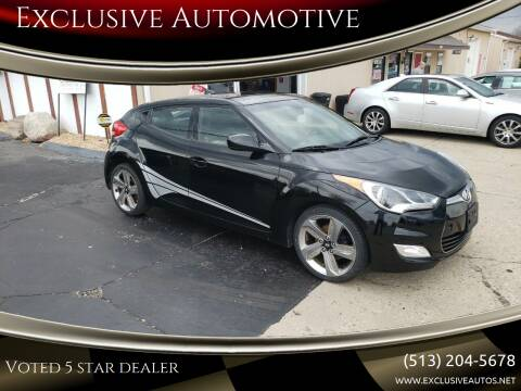 2013 Hyundai Veloster for sale at Exclusive Automotive in West Chester OH