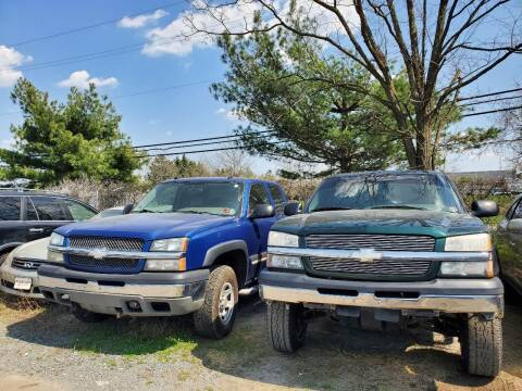 2004 Chevrolet Silverado 1500 for sale at M & M Auto Brokers in Chantilly VA