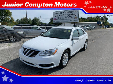 2013 Chrysler 200 for sale at Junior Compton Motors in Albertville AL