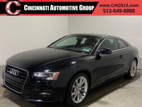 2013 Audi A5 for sale at Cincinnati Automotive Group in Lebanon OH