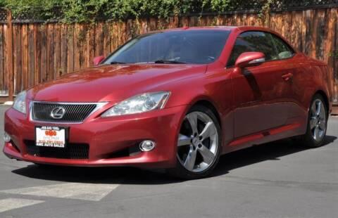 2010 Lexus IS 350C for sale at AMC Auto Sales Inc in San Jose CA