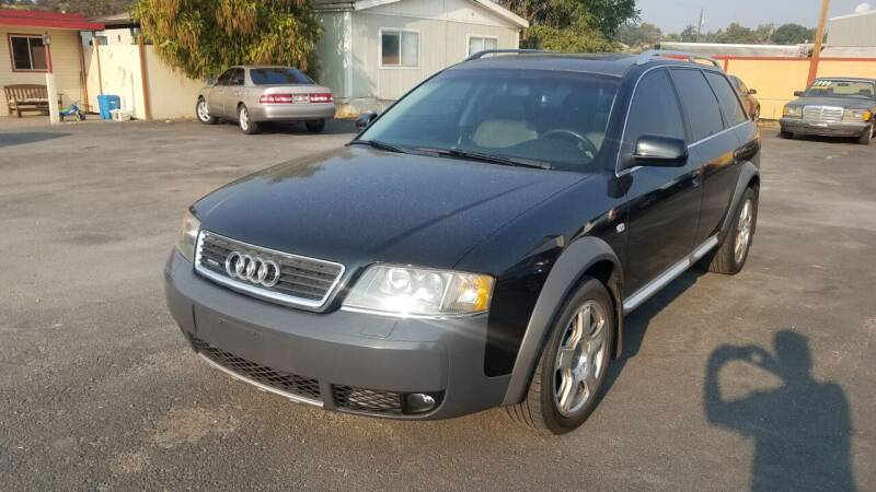 2004 Audi Allroad for sale at Marvelous Motors in Garden City ID