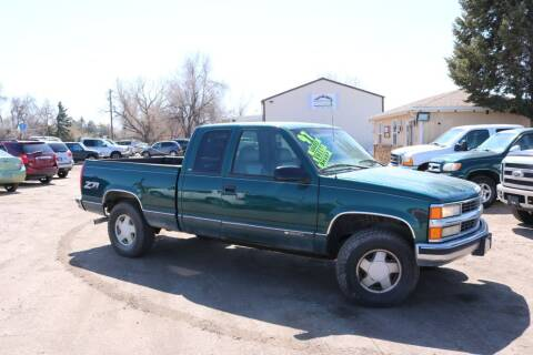 1997 Chevrolet C/K 1500 Series for sale at Northern Colorado auto sales Inc in Fort Collins CO
