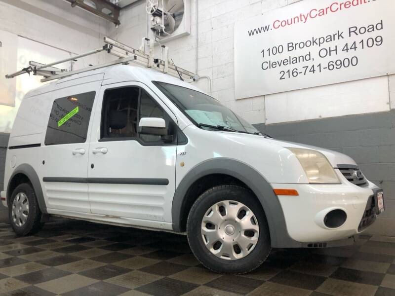 2013 Ford Transit Connect for sale at County Car Credit in Cleveland OH