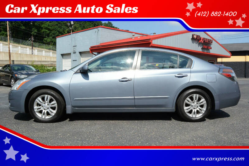 2012 Nissan Altima for sale at Car Xpress Auto Sales in Pittsburgh PA