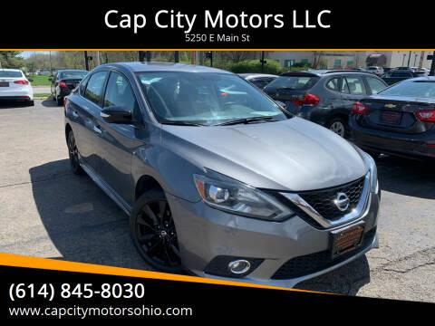 2017 Nissan Sentra for sale at Cap City Motors LLC in Columbus OH