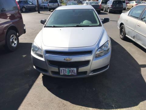 2012 Chevrolet Malibu for sale at ET AUTO II INC in Molalla OR
